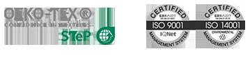 varvaressos-european-spinning-mills-sustainability-logos